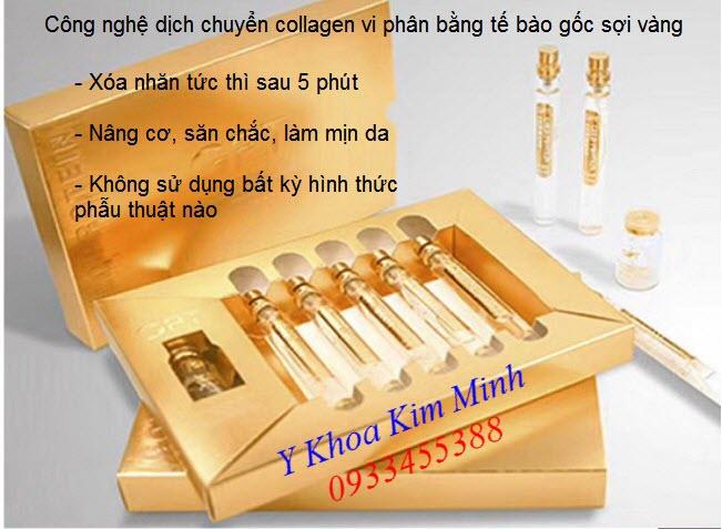 Tế bao gốc GTP Gold Protein xóa nhăn cấp tốc đang bán tại Y Khoa Kim Minh 0933455388