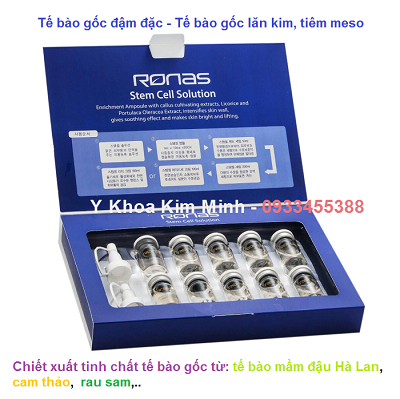 Tế bào gốc Ronas Sterm Cell Hàn Quốc - Y Khoa Kim Minh