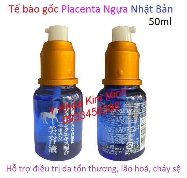Tế bào gốc placenta nhau thai ngựa chống lão hoá Nhât Bản bán giá sỉ tại Y Khoa Kim Minh