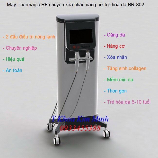Beauty Machine, Thermagic RF Skincare, BR-802, máy căng da trẻ hóa da mặt, máy xóa nhăn - Y Khoa Kim Minh