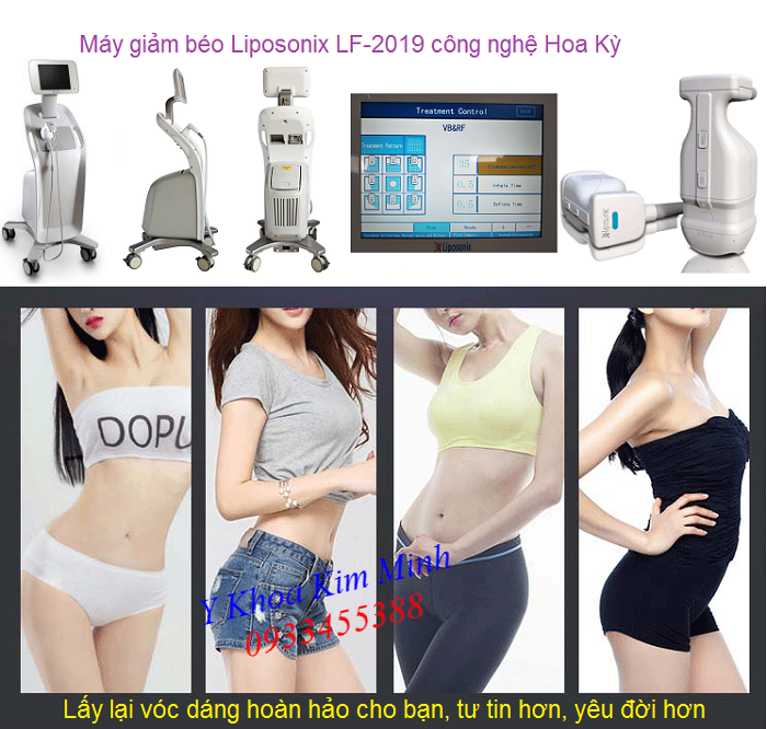 Noi ban thiet bi tham my, may giam beo liposonix LF-2019 tai Tp Ho Chi Minh - Y Khoa Kim Minh 0933455388