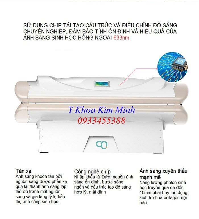 Thiết bị hấp trắng da toàn thân 360 độ mới nhất KTC-01 - Y Khoa Kim Minh