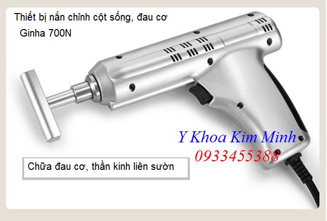 Nơi bán thiết nắn chỉnh đau cột sống, thần kinh, huyệt đạo, chữa đau cơ bắp sóng shockwave - Y Khoa Kim Minh