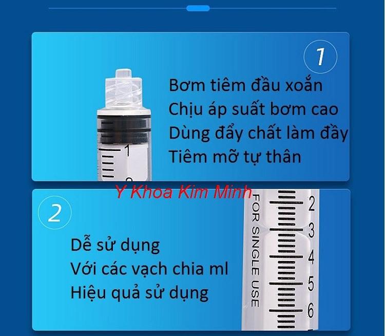 Thông tin bơm tiêm cannula tiêm chất làm đầy, filler dùng trong thẩm mỹ - Y khoa Kim Minh