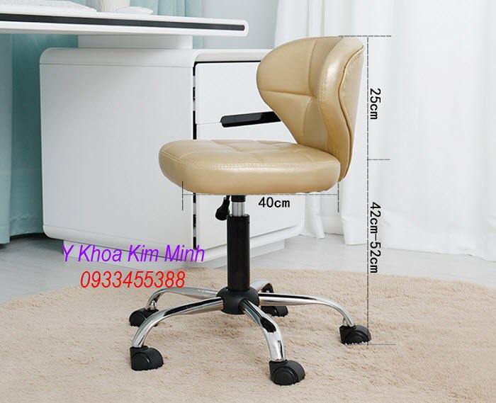 Thông số kỹ thuật, kích thước ghế bup spa cao cấp XS-570 - Y Khoa Kim Minh