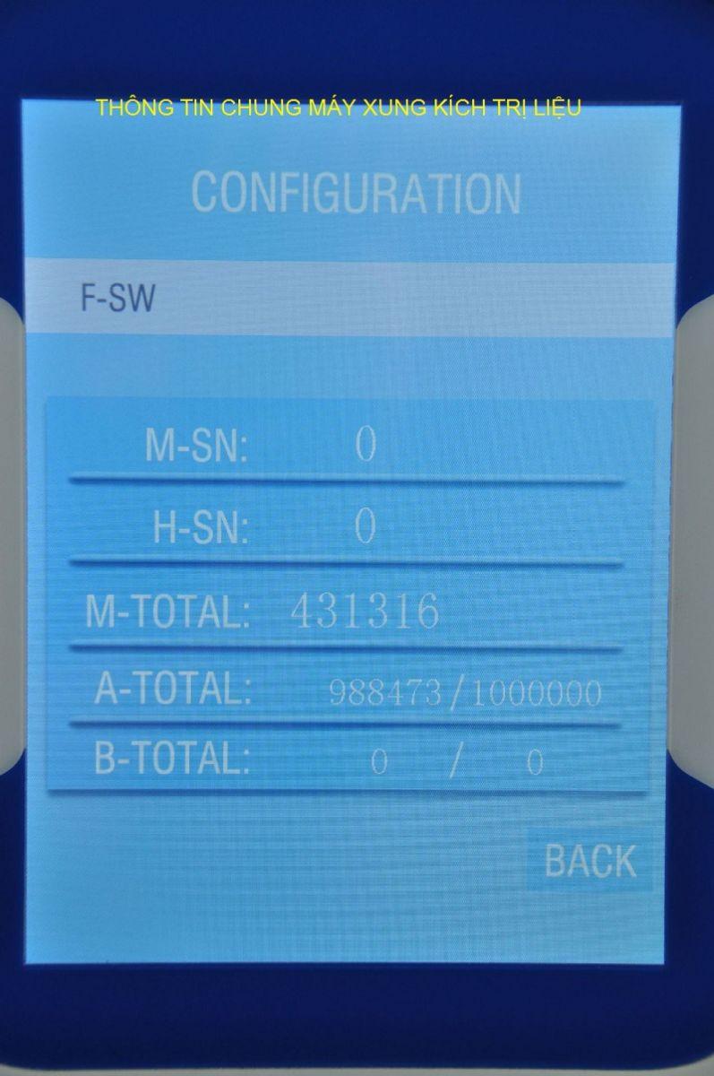 Thông tin chung máy xung kích trị liệu - Y khoa Kim Minh 0933455388