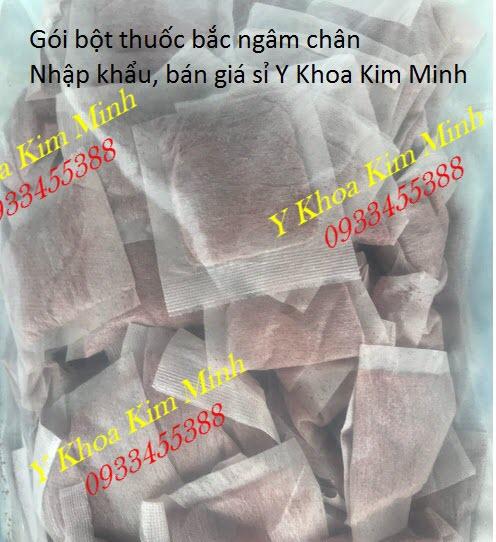 Bột ngâm chân thuốc bắc Tây Tạng dạng gói bán tại Tp Hồ Chí Minh - Y Khoa Kim Minh