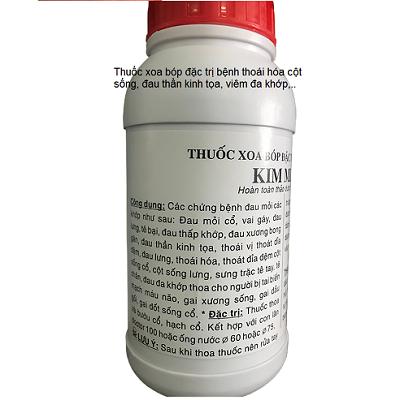 Thuốc đắp, xoa bóp chữa trị đau cột sống, thoát vị đĩa đệm, đau thần kinh tọa Đông y Kim Minh