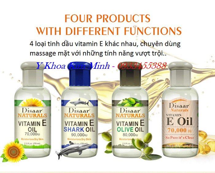 Tinh dầu vitamin E dùng massage mặt bán ở đâu tại Tp Hồ Chí Minh - Y khoa Kim Minh