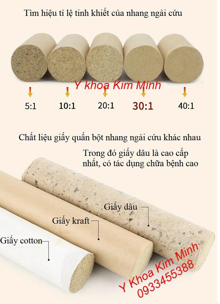 Tính năng của nhang ngải cứu giấy quấn lá dâu tằm là loại cao cấp nhất - Y khoa Kim Minh