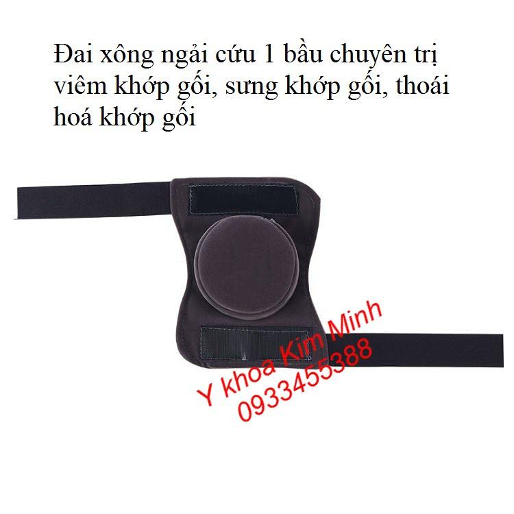 Trị viêm khớp gối, thoái hoá khớp gối bằng đai xông ngải cứu đơn - Y khoa Kim Minh