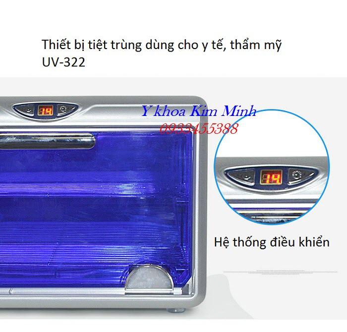 Tủ UV tiệt trùng có chỉnh thời gian bán tại Y Khoa Kim Minh