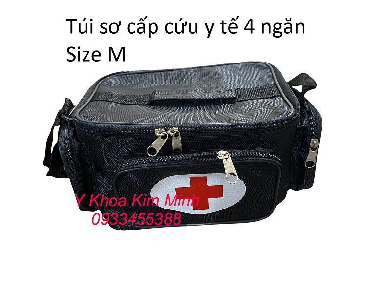 Túi thuốc y tế cá nhân dùng để đựng thuốc, dụng cụ y khoa khoa y tế sơ cấp cứu