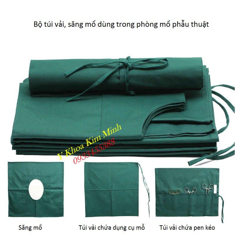 Túi vải, săng mổ y tế bán giá sỉ tại Tp Hồ Chí Minh - Y Khoa Kim Minh
