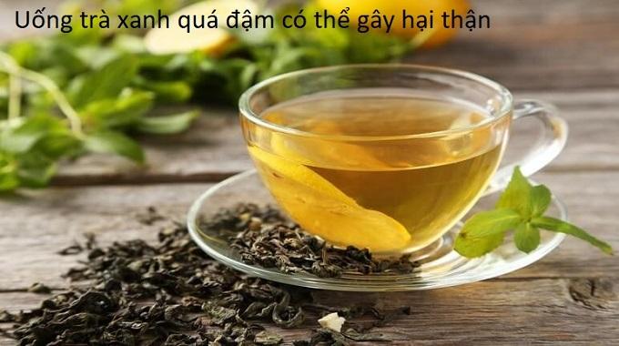 Uống nước trà quá đậm có nguy cơ gây hại thận - Y Khoa Kim Minh