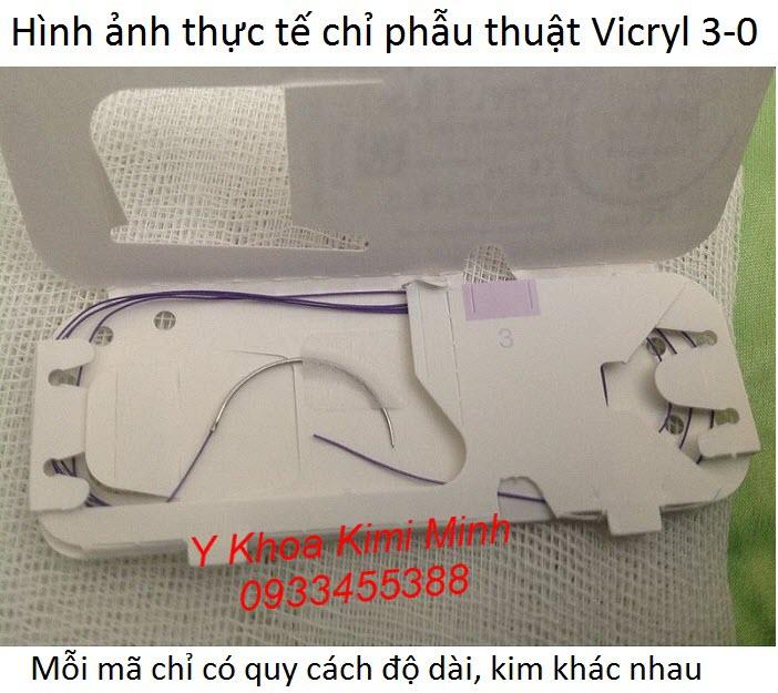 Chi tieu Vicryl 3-0 ban tai Y Khoa Kim Minh