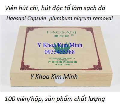 Vien hut tay chi doc to duoi da Haosani 100 vien/hop ban tai Tp Ho Chi Minh - Y Khoa Kim Minh