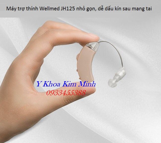 Máy trợ thính mang tai không dây Wellmed - Y khoa Kim Minh