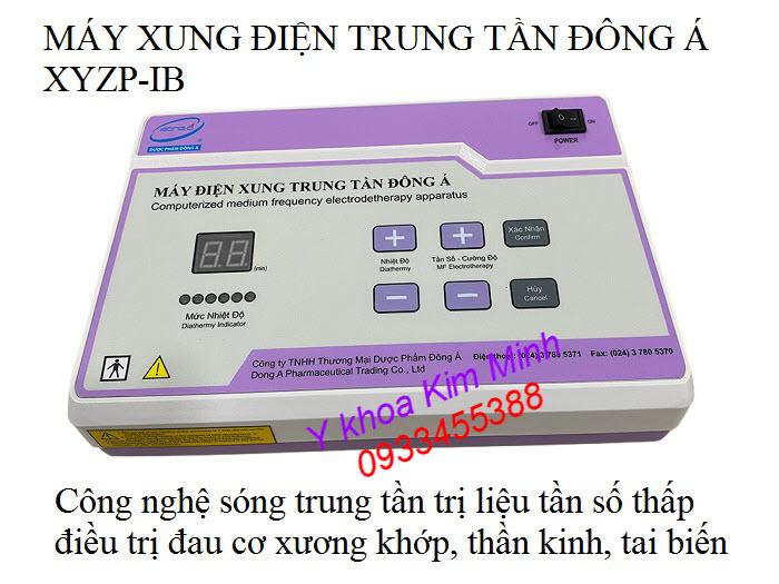 Máy trị liệu xung điện trung tần Đông Á YXZP-IB - Y khoa Kim Minh