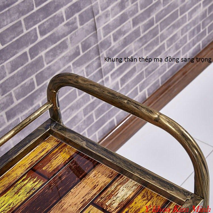 Xe đẩy thẩm mỹ, inox, khung sắt, khung gỗ sản xuất bán tại Y Khoa Kim Minh