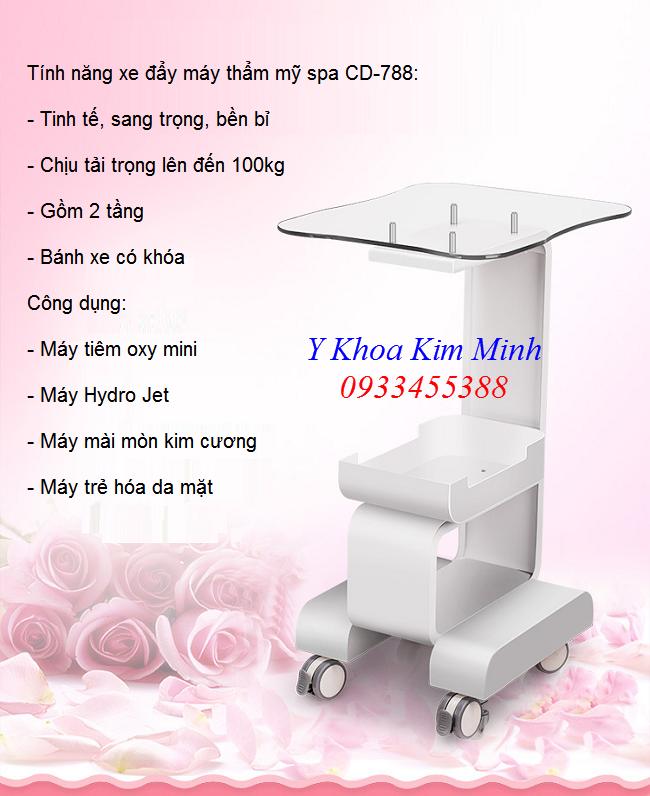 Xe đẩy máy thẩm mỹ chăm sóc da bán tại Tp Hồ Chí Minh - Y Khoa Kim Minh 0933455388
