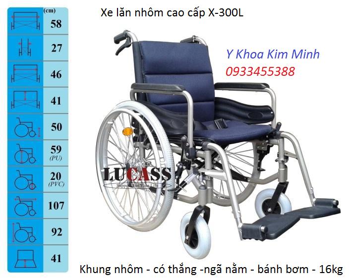 Dia chi ban xe lan nhom Lucas X-300L tại Sài gòn - Y Khoa Kim Minh 0933455388