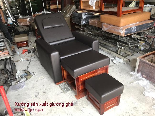 Xưởng sản xuất ghế massage, ghế foot spa, ghế foot làm nail tại Việt Nam - Y Khoa Kim Minh 0933455388
