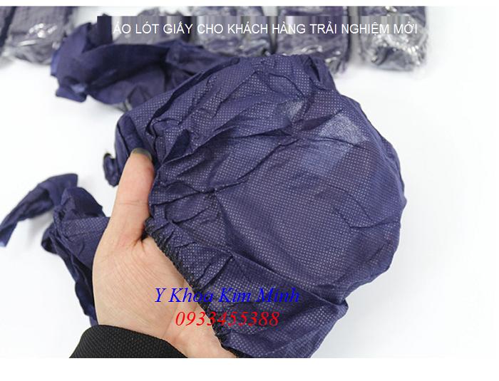 Chất liệu áo lót giấy dùng 1 lần là vải không dệt PP - Y khoa Kim Minh 0933455388