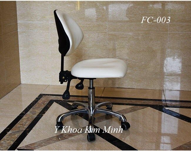 Ghế búp spa tựa lưng và tăng giảm chiều cao mặt ghế ngồi - Y Khoa Kim Minh