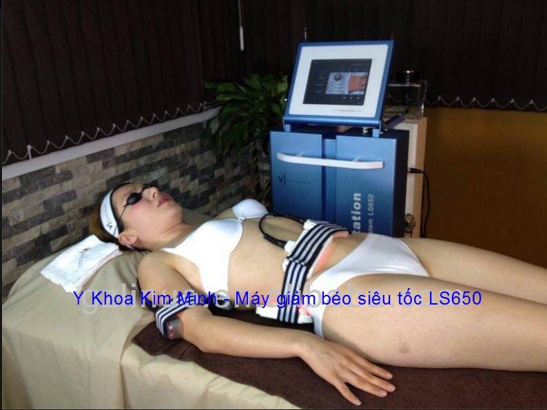 Máy giảm béo siêu tốc Laser Cavitation 40K RF LS650