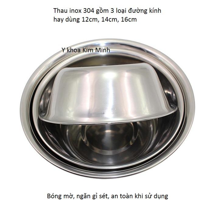 Mua thau inox 304 dùng trong y tế phẫu thuật thẩm mỹ ở đâu tại Tp Hồ Chí Minh - Y Khoa Kim Minh